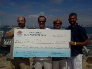 First Place Tuna Tournament